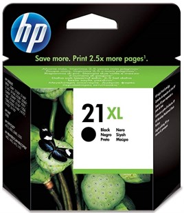 HP 21XL-C9351C 12ml Black Mürekkep Kartuş 475 Baskı
