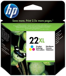 HP 22XL-C9352C 11ml Tri Color CMY Mürekkep Kartuş 465 Baskı