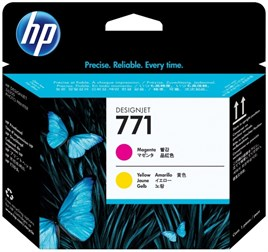 HP 771-CE018A Magenta-Yellow Printhead Baskı Kafası