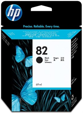 HP 82-CH565A 69ml Black Mürekkep Kartuş