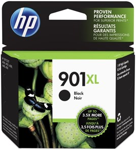 HP 901XL-CC654A 14ml Black Mürekkep Kartuş 700 Baskı
