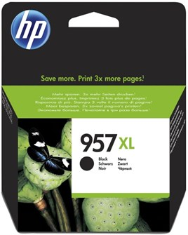 HP 957XL-L0R40A 63.5ml Black Mürekkep Kartuş 3000 Baskı
